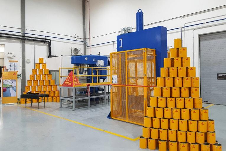 Sika a décidé d'investir dans un agrandissement de ses installations de fabrication de Dubaï. [©Sika]