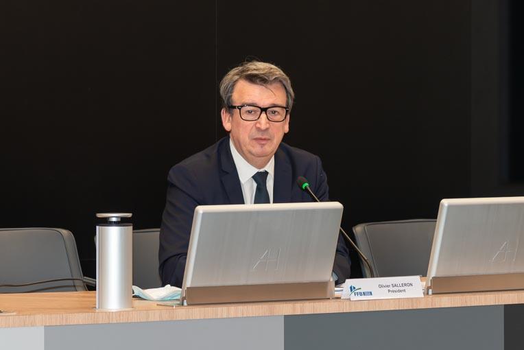 Pour Olivier Salleron, président de la FFB : « L'orientation politique, si elle a le mérite d'être clairement affichée, manque de réalisme ». [©ACPresse]