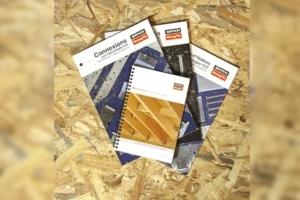 Couverture du guide de préconisation dédié aux constructions en bois par l'entreprise Simpson Strong-Tie. [©Simpson Strong-Tie]
