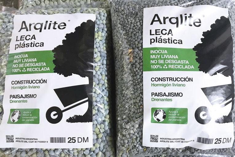 """Arqlite produit des granulats légers issus du recyclage. Sa solution s'appelle """"Smart Gravel"""". [©Arqlite]"""