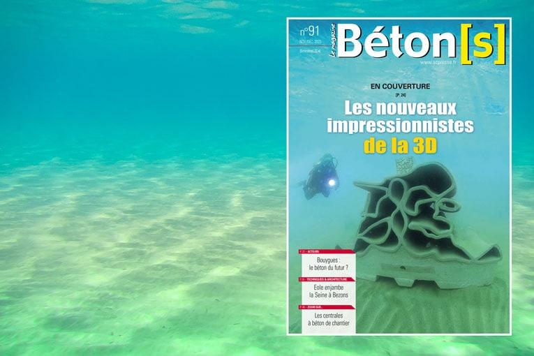 Couverture de Béton[s] le Magazine n° 91