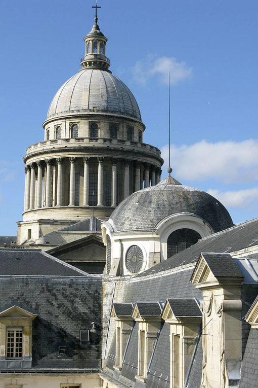 Le dôme du prestigieux lycée Henri IV a fait peau neuve. [©Layher]