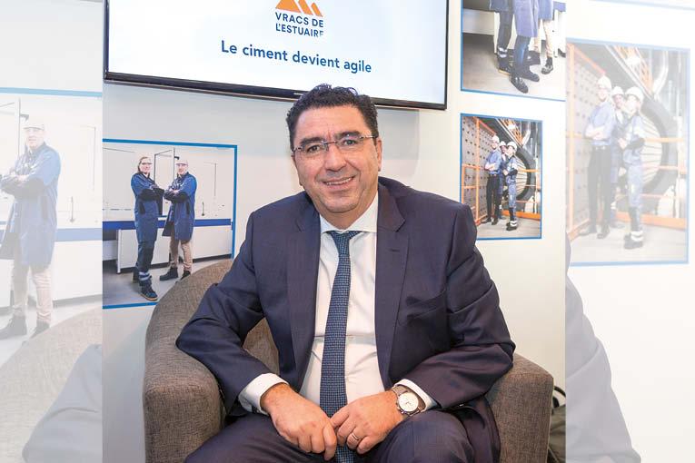 Youssef Alaoui, directeur général délégué des Vracs de l'Estuaire. [©ACPresse]