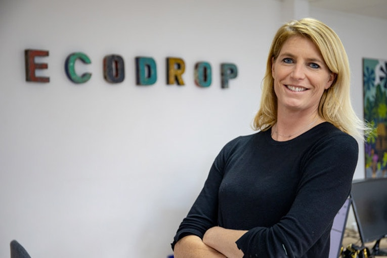 Marie Combarieu fondatrice d'EcoDrop. [©WTTJ]