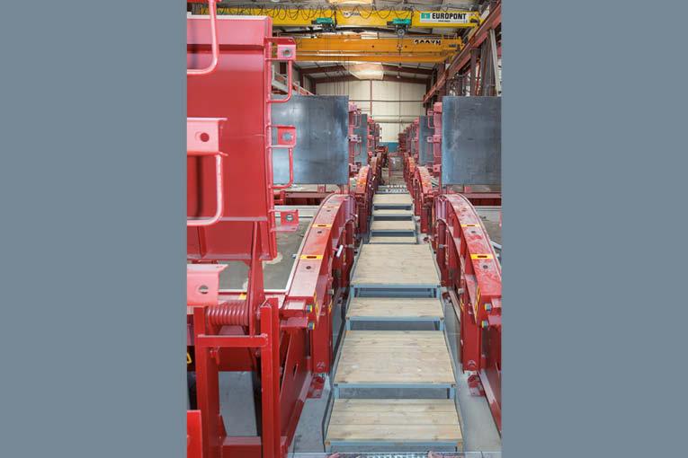 Les usines automatisées de CBE Group traitent l'ensemble des étapes de la production d'éléments béton.  [©ACPresse]
