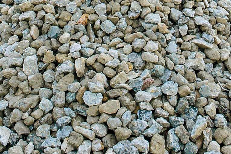 Granulats issus de la valorisation de bétons de démolition. [©Clamens]