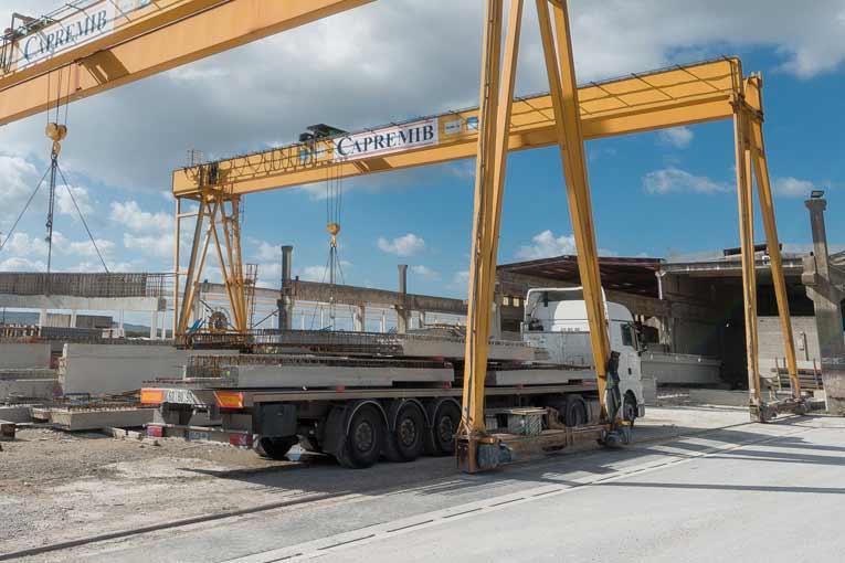 L'activité du quai de chargement du site Caprémib est à l'arrêt, faute de demande… [©ACPresse]