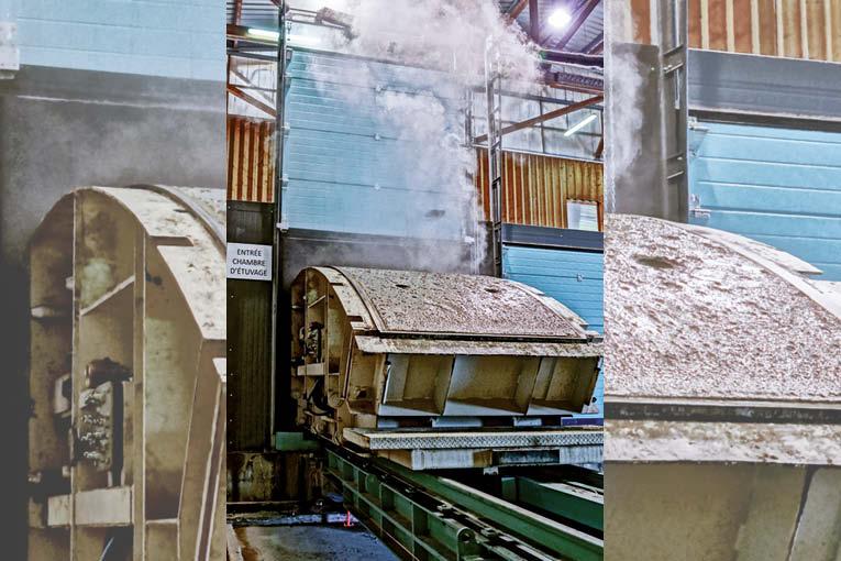 Les usines automatisées de Fama permettent de produire des voussoirs pour les tunnels.  [©Fama]