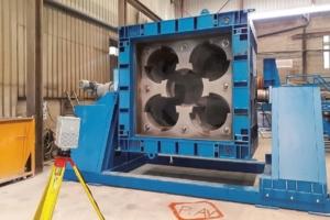 Pour le site d'enfouissement nucléaire de Bure, Moules Concept Béton a créé le prototype des moules pour le confinement. [©MCB]