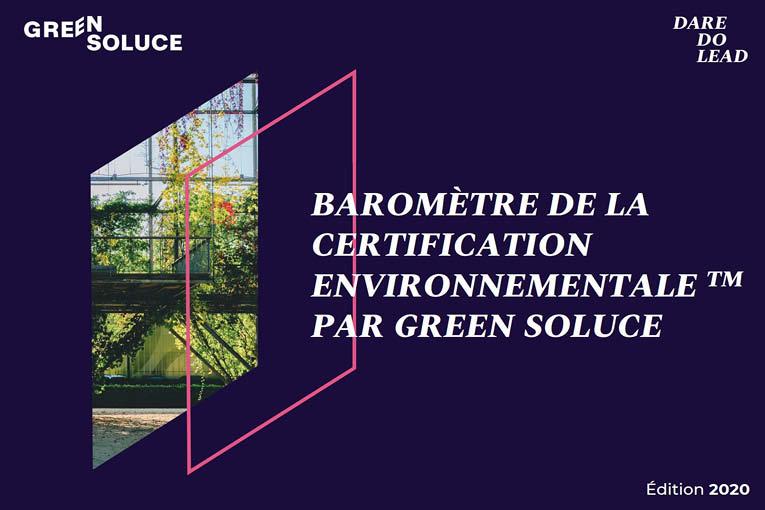 """Réalisée par Green Soluce, l'analyse """"le baromètre de la certification environnementale"""" fait le point sur l'état des marchés des labellisations. [©GreenSoluce]"""