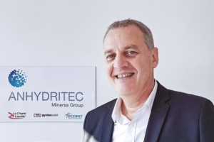 Francis Augustin, directeur marketing et commercial Europe d'Anhydritec. [©Anhydritec]