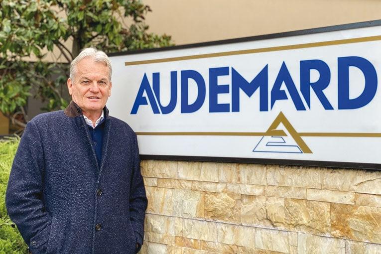 Daniel Audemard, co-président du groupe éponyme.