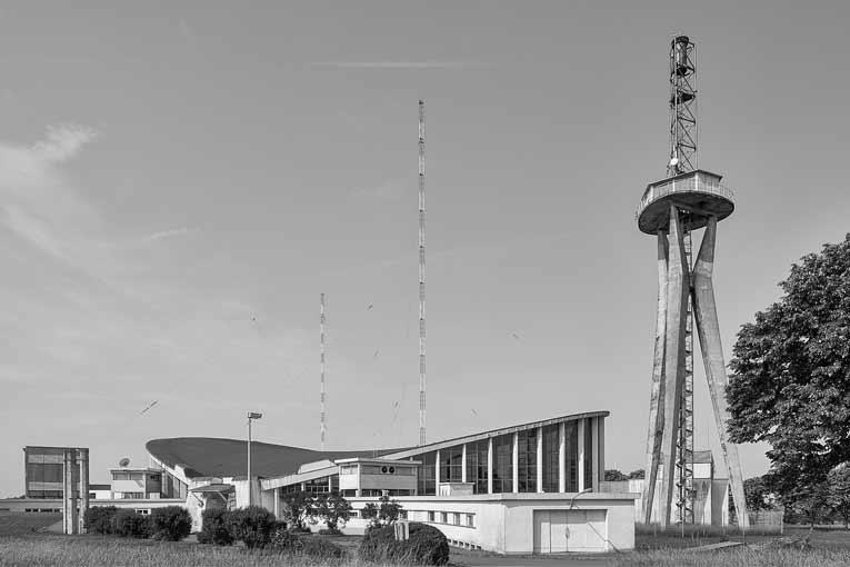 A 317 m d'altitude, le bâtiment doit s'étendre sur 82 m de longueur, 43 m de largeur et 16 m de hauteur maximale. [©Marco Kany]