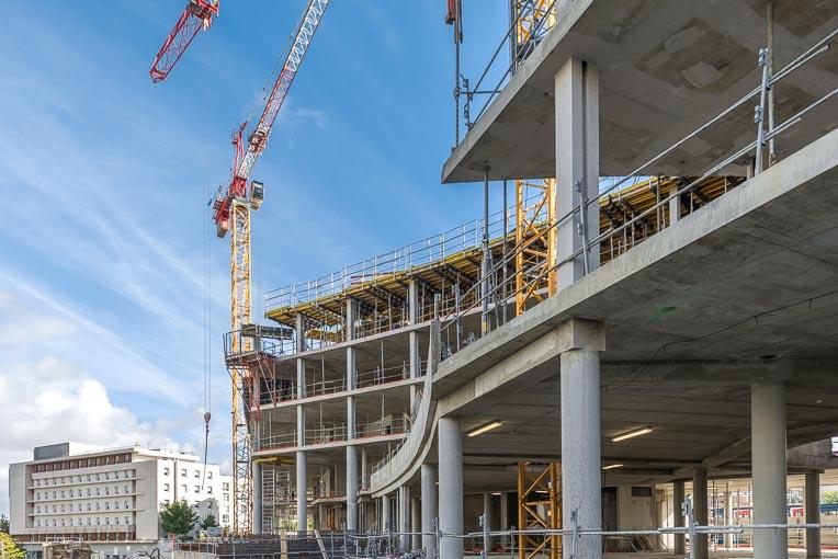 L'année 2020 a vu un recul de 14,7 % des permis de construire. [©ACPresse