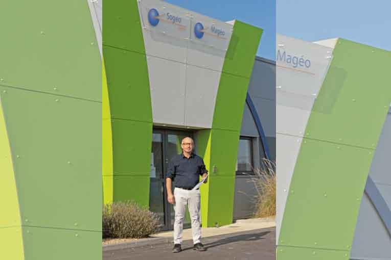 Cédric Theuleau, responsable administratif et commercial, chez Mageo. [©Mageo]