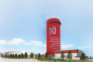La deuxième usine vendéenne de HGCT sera verticale, pour une capacité de production de 250 000 t de ciments décarbonés. [©HGCT]