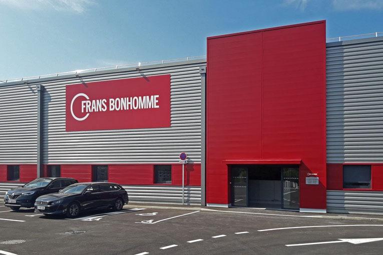 Frans Bonhomme compte 156 agences spécialisées dans les produits en béton à destination des travaux publics. [©Frans Bonhomme]