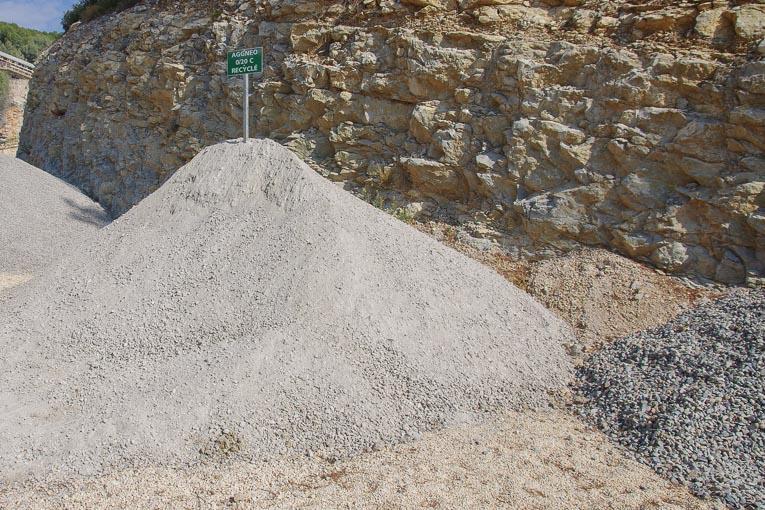 Granulats recyclés Aggneo.