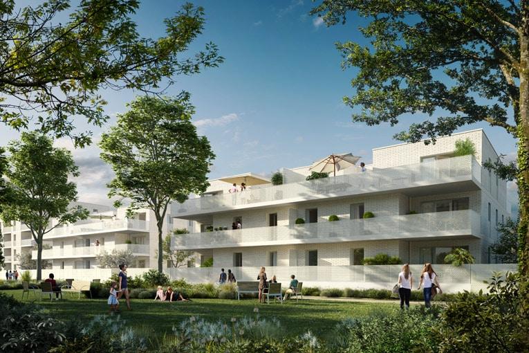 """Le projet d'habitation des Terrasses de Jade réalisé par LP Promotion a obtenu 2 prix dans la catégorie """"BIM"""" et """"Data"""". [©Kéaction]"""