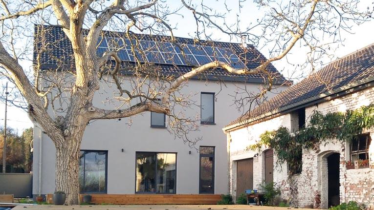 A Mons, Homeco a réaliser une rénovation globale d'une maison individuelle. [©Homeco]
