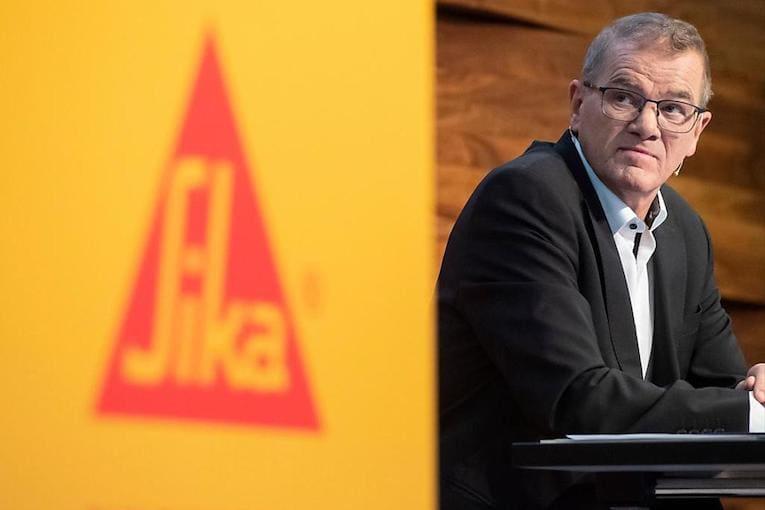 Paul Schuler est le directeur général de Sika. [©Sika]