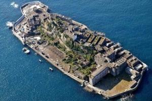 L'île japonaise d'Ha-Shima a abrité le tournage de Skyfall, réalisé par Sam Mendes [©BY 2.0]