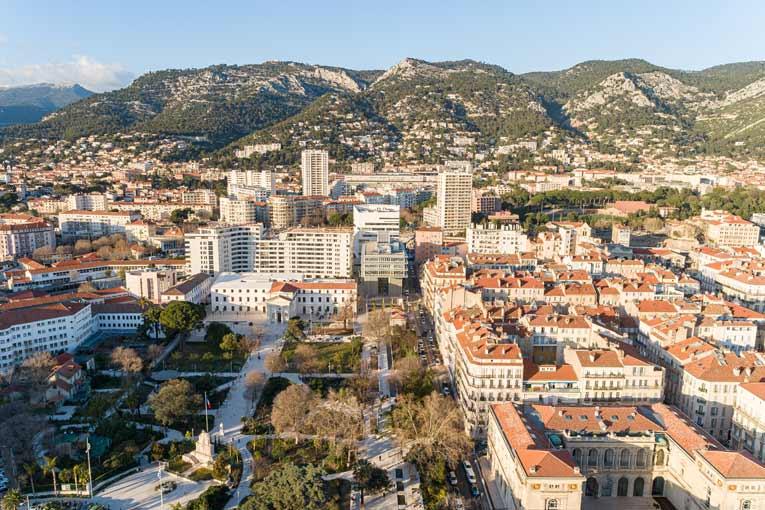 Le label Eco quartier a été décerné au quartier Chalucet à Toulon. [©Lisa Ricciotti - Corinne Vezzoni et Associés]
