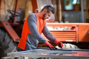 """Avec son design moderne et sa capacité de protéger du froid, le pull Lautrec de Concept Tricots Bonnemaille est un """"must have"""". [©Concept Tricots Bonnemaille]"""
