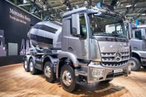 En 2019, Daimler a livré un total d'environ 500 000 camions et bus dans le monde. [©Daimler]