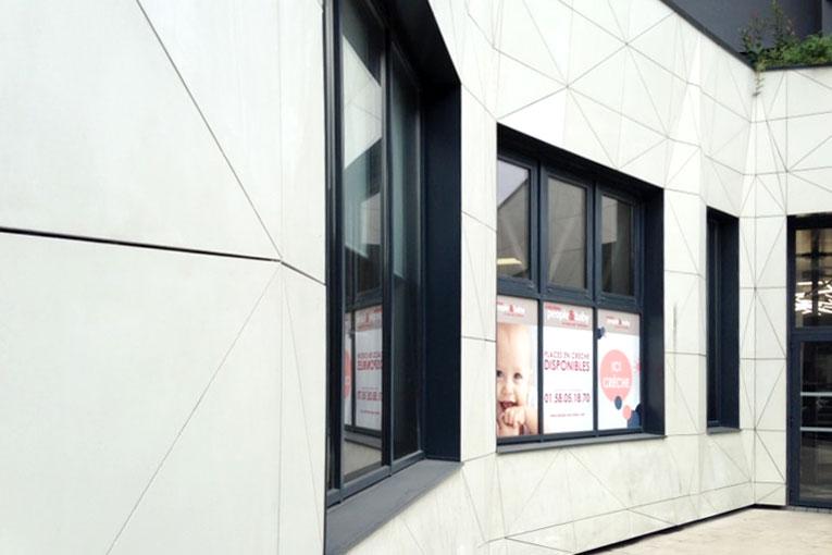 Le Barda'Clean est issue de la préfabrication en béton, il est conçu en partenariat avec Ciments Calcia. [©Perin & Cie]