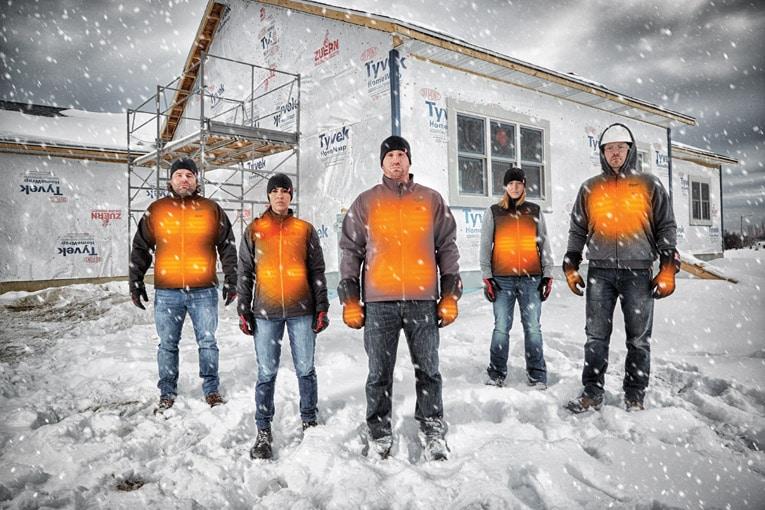 Dickies développe des vestes chauffantes haute innovation. [©Dickies]
