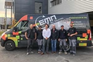 EMN est spécialisée dans la rénovation et l'entretien des dallages. [©EMN]