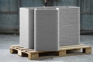 Pour Creabeton Matériaux, l'impression 3D s'inscrit bien dans la transition environnementale. [©Creabeton Matériaux]