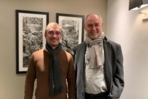Frédéric Guillemet, Directeur Général associé opération et innovations, et Patrick Vericel, Directeur Général associé business et développement. [©MLT]