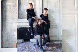 Pauline Surh, Claire Meunier et Gaëlle Lonjou, architectes de l'agence Ré-Architecture. [©Ré-Architecture]