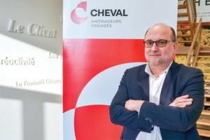 Jean-Pierre Cheval est le président du groupe de BTP régional qui porte son nom. [©Groupe Cheval]