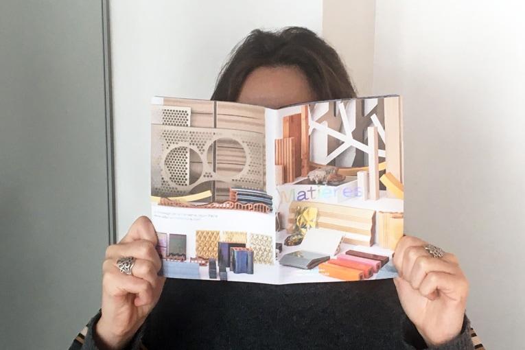 """Le fascicule """"Matières"""" publié par Anne-Françoise Jumeau Architectes reflète le travail mené par l'agence ces dernières années."""