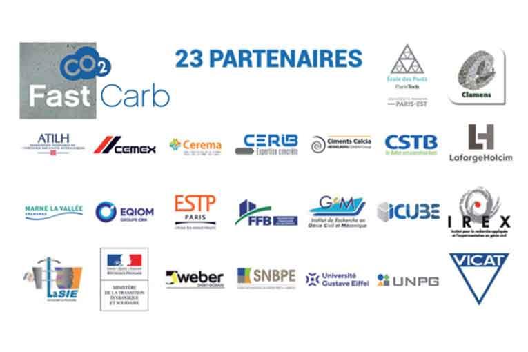 Partenaires du Projet national FastCarb.