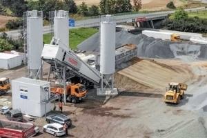 La centrale super mobile Euromix constitue un des fers de lance de l'industriel autrichien SBM. [©SBM]