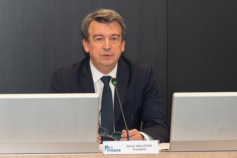 Olivier Salleron, président de la FFB. [©ACPresse]