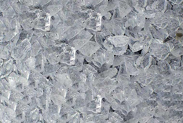 Zoom sur la structure de la silice cristalline. [©INRS]
