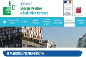 Site du gouvernement consacré à l'Expérimentation E+C-. [©DR]