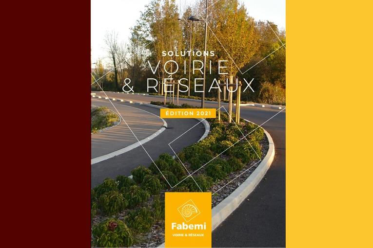 """Le guide """"Solutions Voirie & Réseaux"""" de Fabemi comprend de nombreux produits en béton employés dans les aménagements publics. [©Fabemi]"""