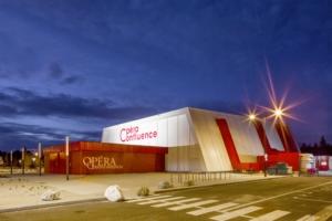 L'opéra éphémère devait accueillir 950 places. [©DE-SO]