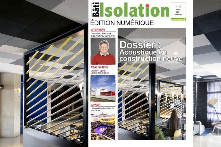 Dossier : Isolation acoustique en construction neuve