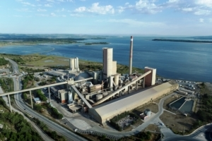 La cimenterie LafargeHolcim de Port-La-Nouvelle va valoriser les déchets. [©LafargeHolcim]
