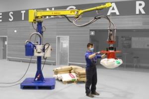 Dalmec a repensé son manipulateur à câbles pour la manipulation de sacs : Posifil PF [©Dalmec]