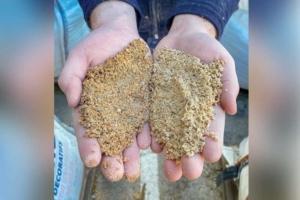 Le MasterSuma SBS 4131 est le premier plastifiant réducteur d'eau pour bétons formulés avec des sables argileux. [©Master Builders Solutions]