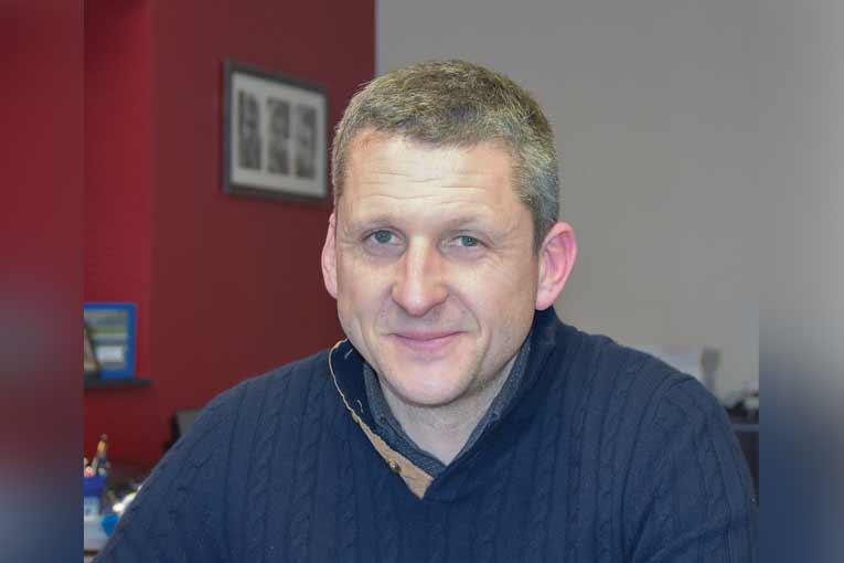 Clovis Dazard, gérant de l'entreprise éponyme. [©Gérard Guérit]