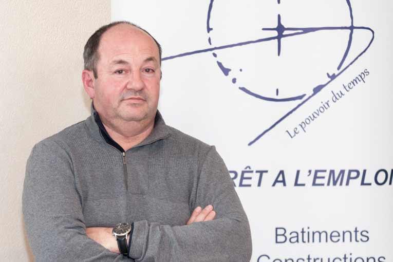 Olivier Stocker, président du groupe JPS Granulats : « Dans le béton, c'est le clinker qui est émetteur de CO2, pas l'eau, ni les granulats ».  [©ACPresse]